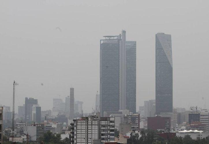 En la delegación Cuajimalpa se registra la mayor concentración de partículas contaminantes este viernes. (Notimex)