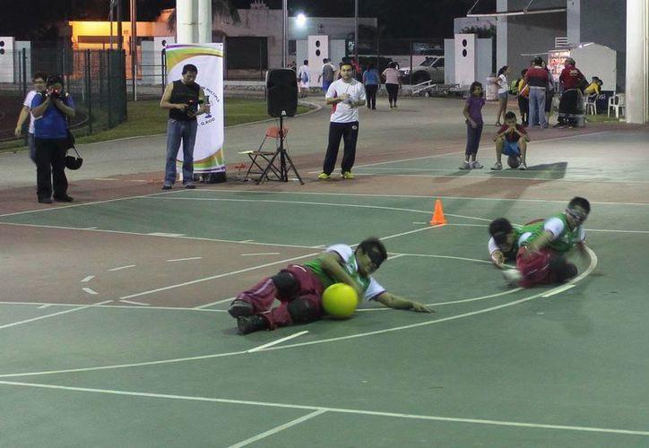 Los entrenamientos de las disciplinas adaptadas son en las Unidades Deportivas Bicentenario e Independencia. (Gustavo Villegas/SIPSE)