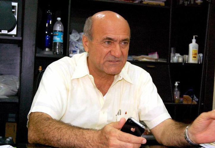 Ricardo Dájer Nahum, dirigente hotelero. (SIPSE)