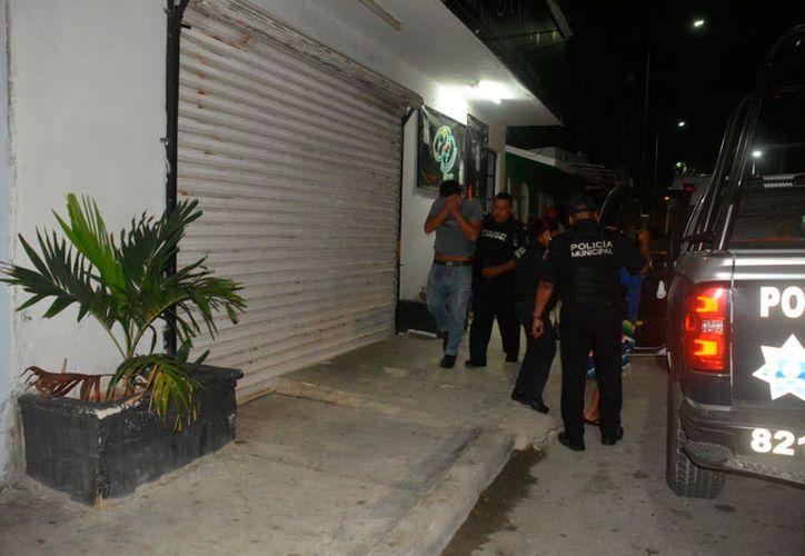 Los hechos ocurrieron en un cuartería ubicada en la calle 84, entre las avenidas 30 y 35 de la colonia Colosio. (Redacción/SIPSE)