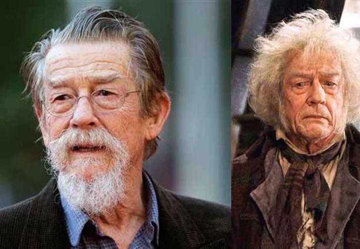 """Ganador de cuatro premios Bafta y nominado a dos Oscar, muere John Hurt, actor de """"Harry Potter"""", quien padecía cáncer de páncreas. (Foto tomada de indianexpress.com)"""