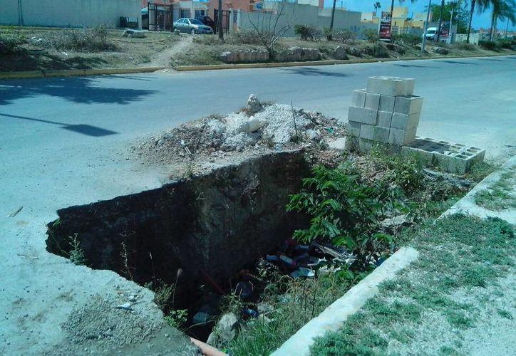 Solicitan a las autoridades intervenir para dar solución a la problemática. (Yesenia Barradas/SIPSE)