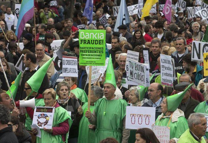 Miles de españoles tomaron las calles de Madrid para conmemorar el 1 de mayo. (Agencias)