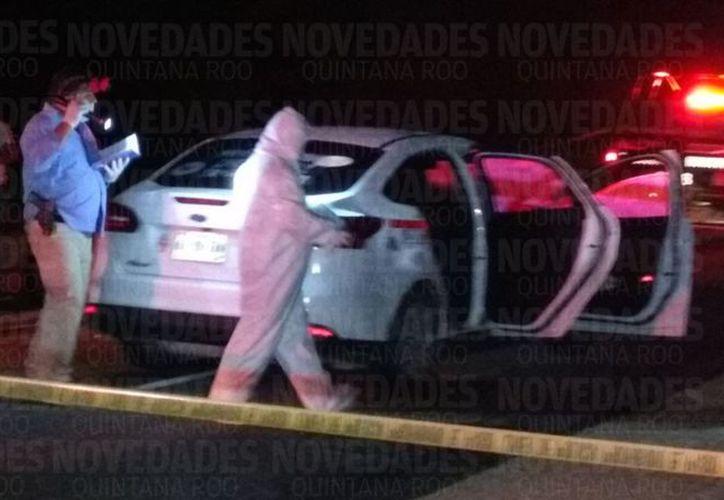Matan a taxista en la carretera Tulum-Felipe Carillo Puerto. (Redacción/SIPSE).