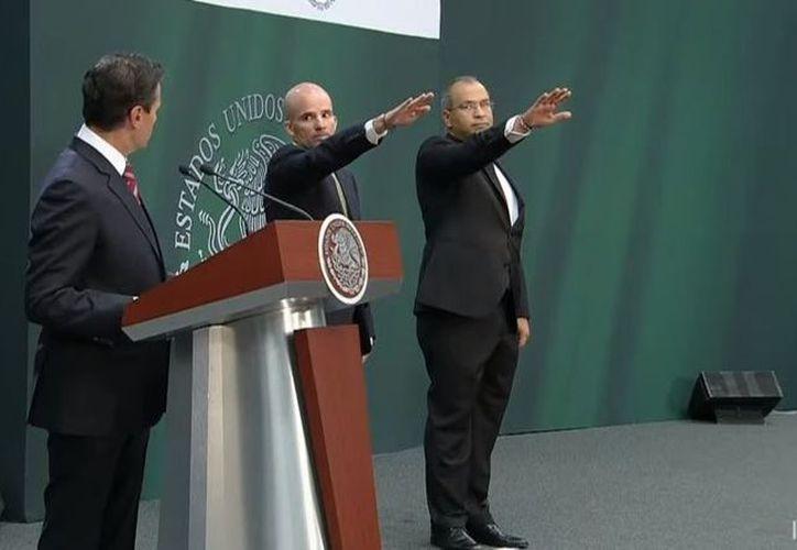 Enrique Peña Nieto anuncia cambios en el gabinete. (Redacción)