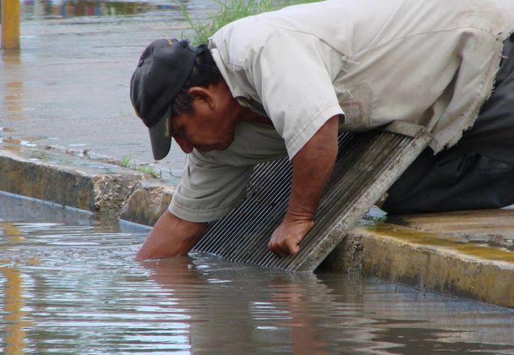 Carrilloportenses han denunciado la mala calidad de los pozos de absorción. (Manuel Salazar/SIPSE)