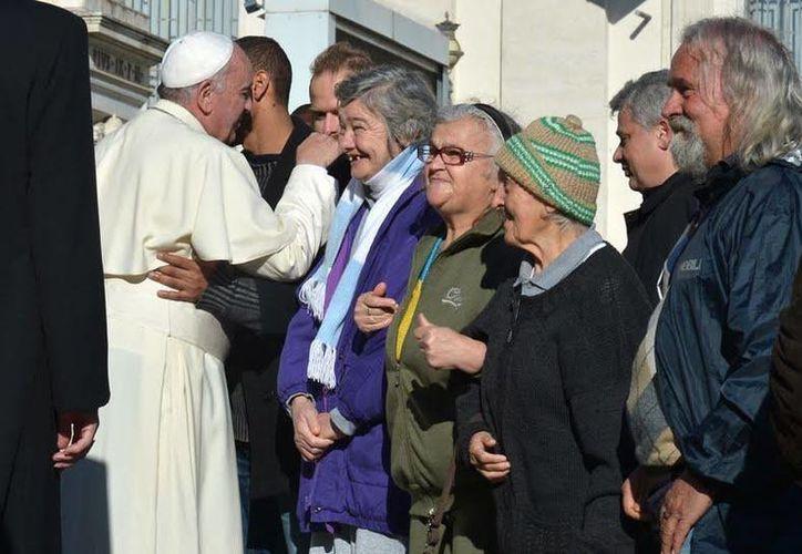 Hace unas semanas, el Papa Francisco ordenó la construcción de unas duchas públicas para indigentes de Roma. (aleteia.org)