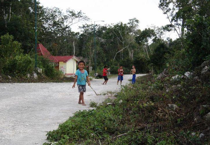 Los 150 habitantes de San Pedro Cobá quieren saber si pertenecen a Tulum, Solidaridad, o a un municipio de Yucatán. (Octavio Martínez/SIPSE)