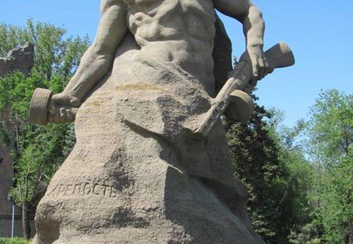 Monumento a los soldados rusos en Volgogrado. (es.123rf.com)