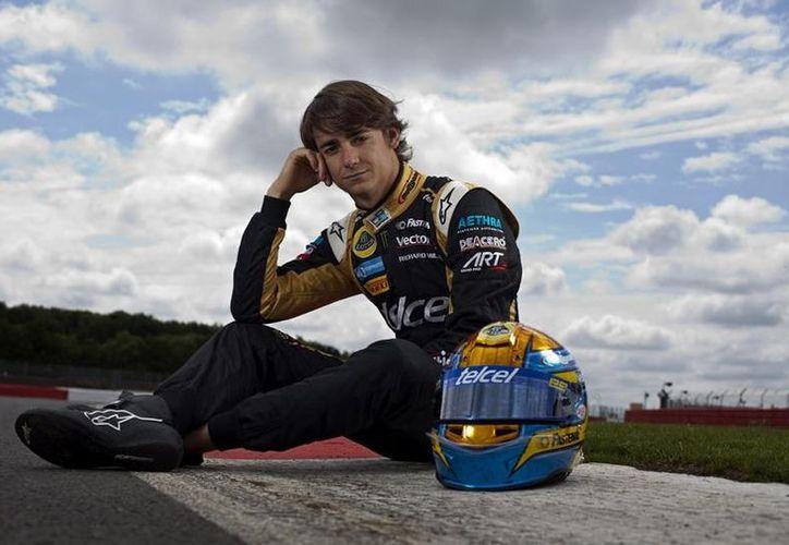 Gutiérrez llega a la F1 a los 21 años de edad. (Foto: GP2)
