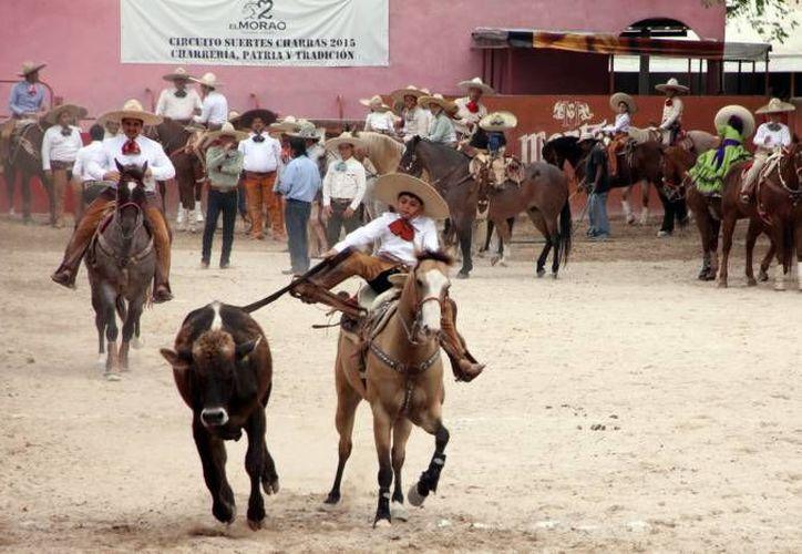 De acuerdo a la Unesco la charrería mexicana reúne las características para ser Patrimonio de la Humanidad. (Foto de contexto de SIPSE)