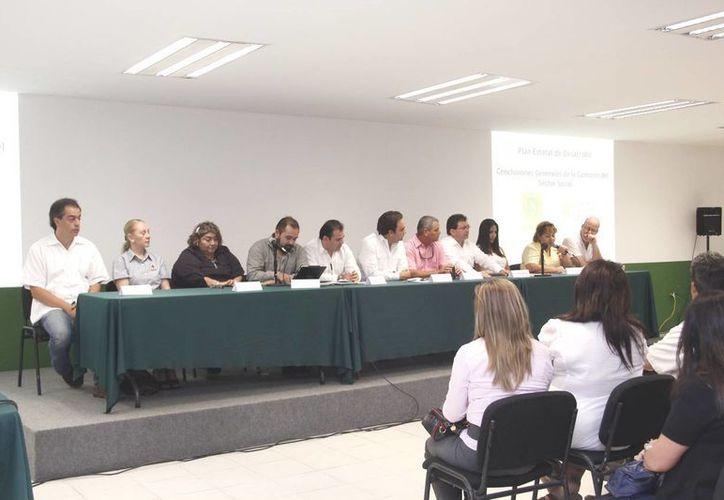 Cámaras empresariales, académicos y sociedad civil trazaron 21 objetivos para impulsar el desarrollo social. (Cortesía)