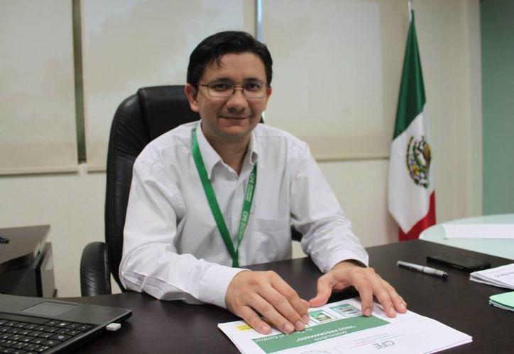 Capi Madera Gil dijo que en este programa no hay incremento de tarifas. (Adrián Barreto/SIPSE)