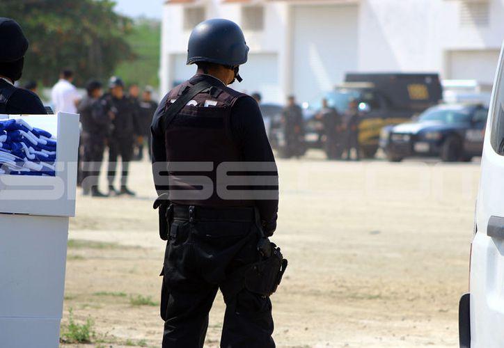 Este lunes se se realizó un fuerte operativo en el sur de la ciudad para detener a esta banda delictiva. (Aldo y jorge Pallota/ SIPSE)