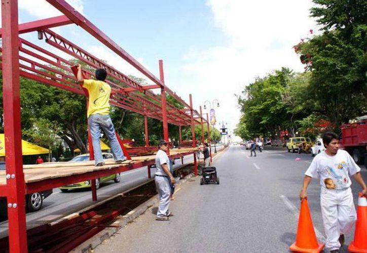 Tiempo de cambios, el Carnaval se despide del Paseo de Montejo. (Archivo SIPSE)