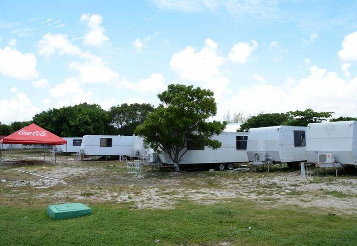 Las 18 aulas móviles serán usadas en las escuelas de nueva creación en Cancún. (Victoria González/SIPSE)