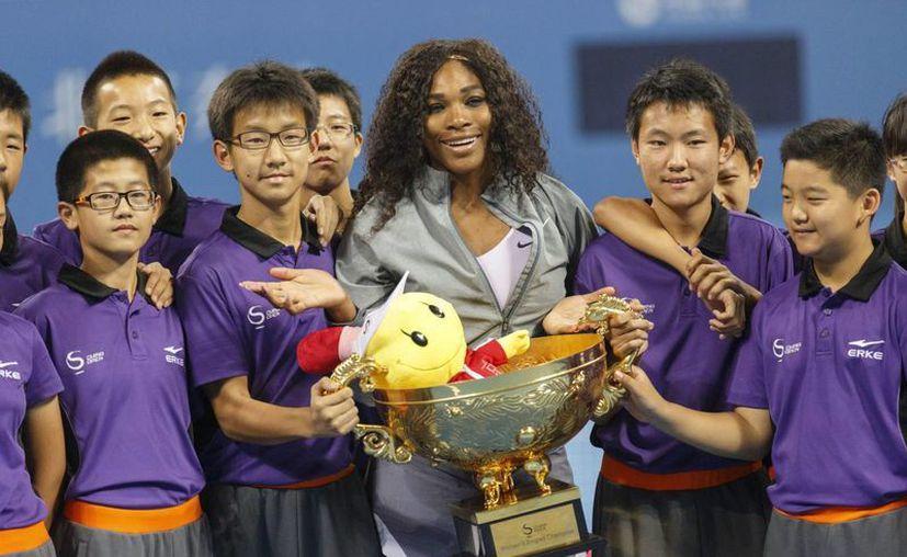 Es la segunda vez que Williams se corona en este torneo. (EFE)