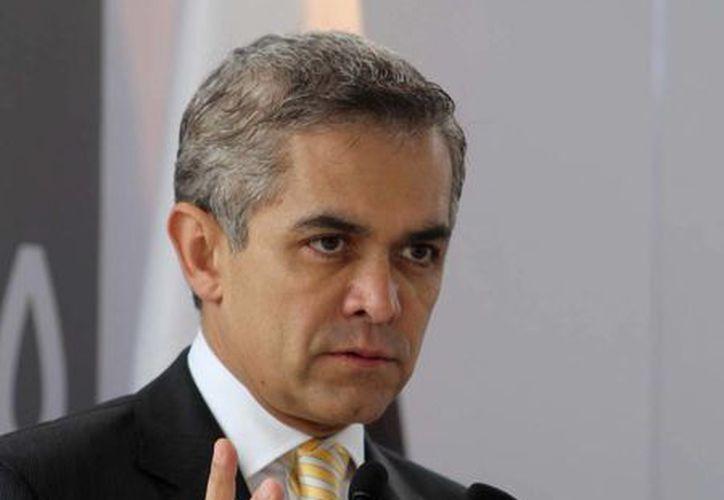 Mancera advirtió que no habrá exenciones salvo las estipuladas en el programa Hoy no Circula. (Notimex)