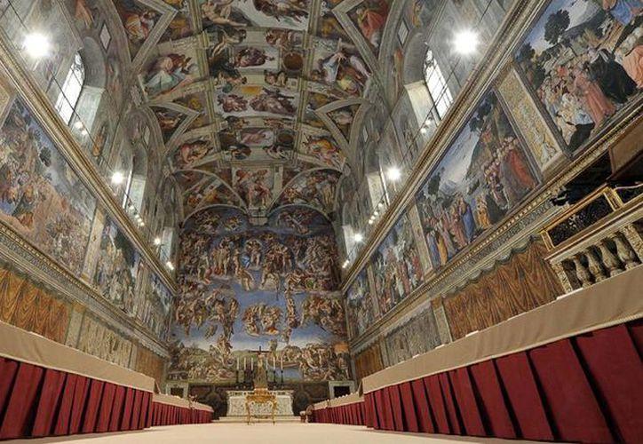 Los equipos de iluminación y aire acondicionado fueron donados a El Vaticano por empresas especializadas en los rubros. (AP)