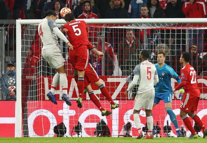 Ni siquiera tuvo que meter gol Mohamed Salah para que el Liverpool sacara un resultado histórico en Alemania y echara al Bayern (Foto: @LFC)