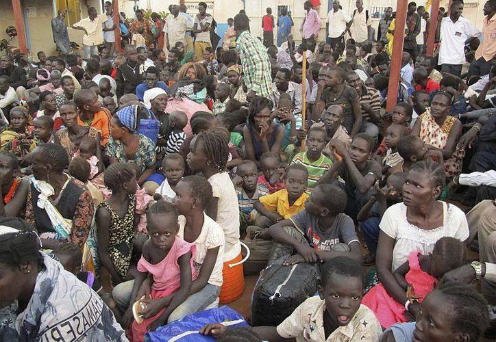 La violencia en Sudán del Sur ha causado en dos semanas la muerte de al menos 500 personas. (Agencias)