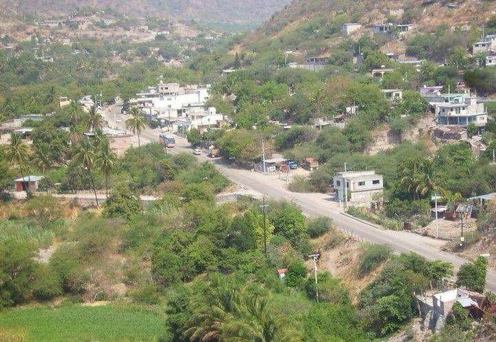 Vista panorámica del municipio indígena San Pedro Totolapan, Oaxaca, en donde esta mañana fue asesinado el alcalde electo Epigmenio Rafael Aragón. (Facebook)