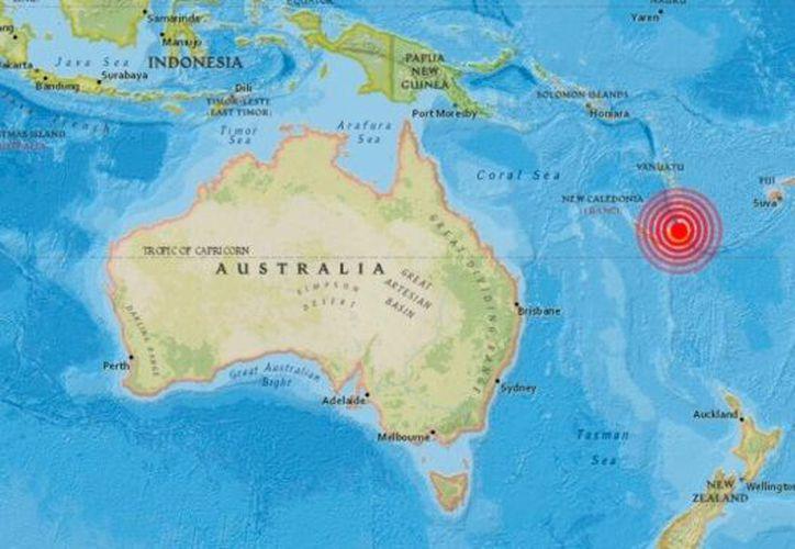 El Centro de Alerta de Tsunamis del Pacífico recomendó a la población de esas áreas manenerse alerta. (Foto: Notimex)