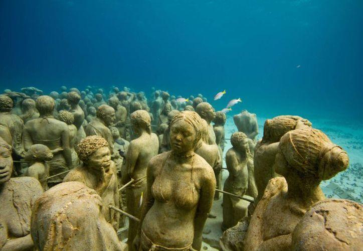 Museo Subacuático de Arte de Quintana Roo. (Jesús Tijerina/SIPSE)