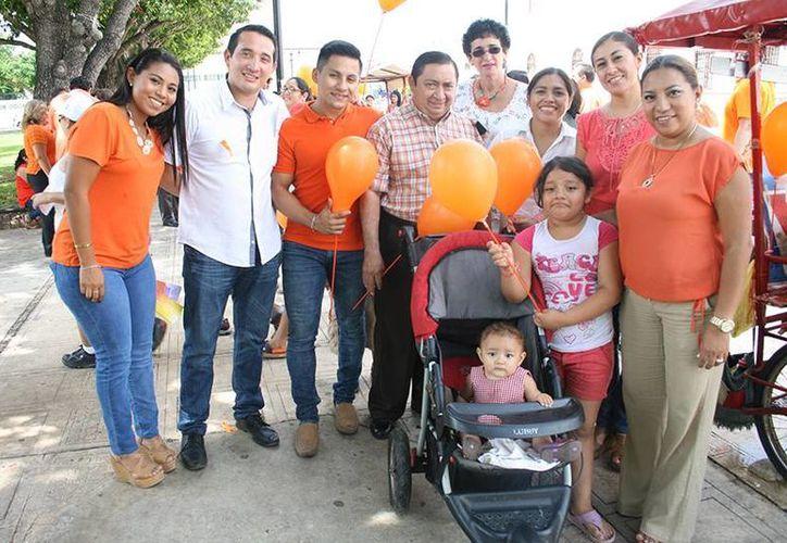 El tema de este mes del Instituto para la Equidad de Género en Yucatán (IEGY) es 'Prepárense para el naranja del mundo'. El organismo promueve una campaña contra la violencia hacia mujeres y niñas. (Foto cortesía del Gobierno de Yucatán)