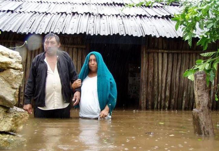 'Isidore' dejó grandes inundaciones, sobre todo en el interior del estado. (Archivo/ SIPSE)