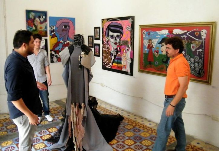 La Galería Mérida está ubicada en el barrio de La Mejorada, en la calle 59, a metros antes del parque. (Milenio Novedades)