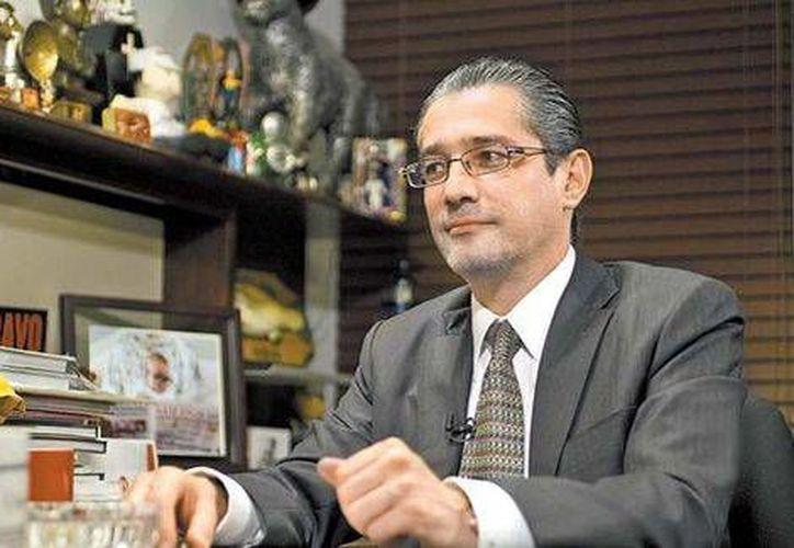 El procurador mexiquense visitó la semana pasada las instalaciones de MILENIO en el Distrito Federal. (Martín Salas/Milenio)