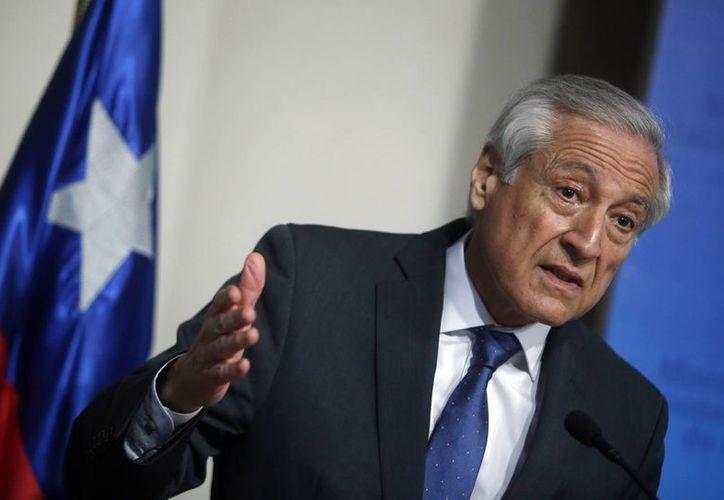 El ministro de Relaciones Exteriores, Heraldo Muñoz, anunció el decreto para la creación del parque marino Nazca-Desventuradas. (Archivo/EFE)