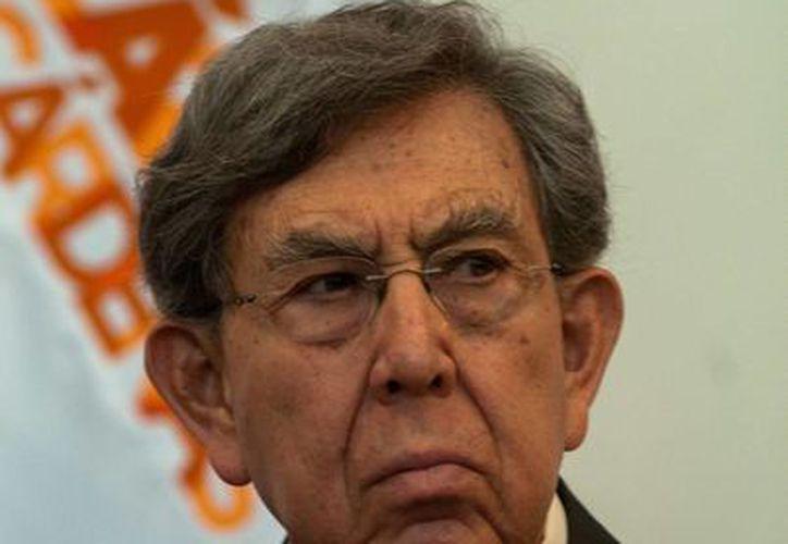 Cárdenas rechazó que la desaparición de poderes resuelva el problema en Michoacán. (Archivo/Notimex)