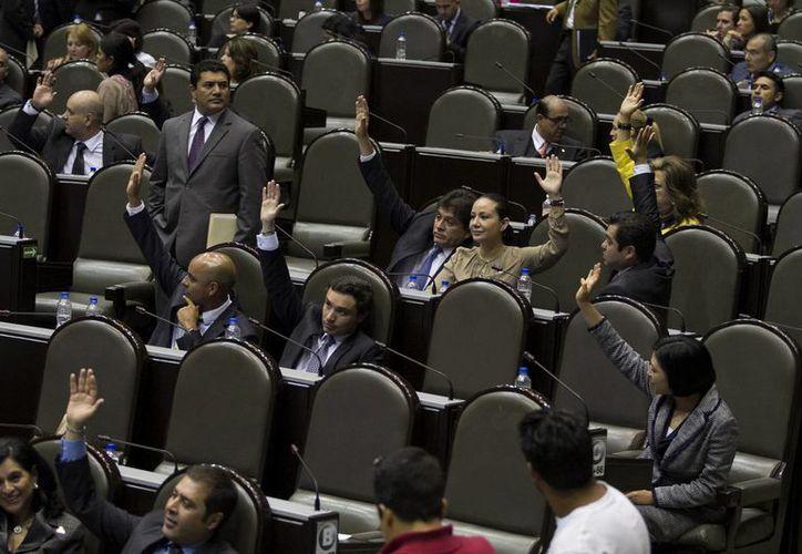 El dictamen de la iniciativa fue avalado por 419 votos a favor. (Notimex/Foto de archivo)