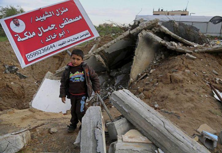 Israel asegura que todos los puntos que atacó en la Franja de Gaza eran 'blancos objetivos'. (AP)