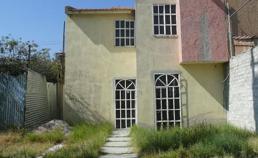Casas abandonadas en Mérida.(Foto: Novedades Yucatán)
