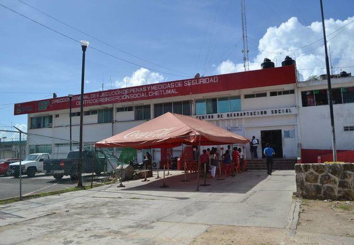 El Centro de Reinserción Social de Chetumal recibió la calificación reprobatoria de 5.22. (Harold Alcocer/SIPSE)