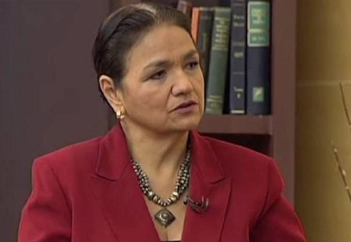 Dulce María Sauri Riancho, designada gobernadora interina de Yucatán en 1991, es ejemplo de que las mujeres pueden desempeñar el puesto que se propongan. (SIPSE)