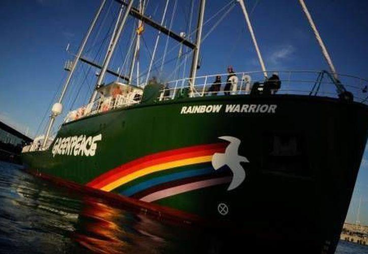 El Rainbow Warrior estará en Cozumel del 14 al 16 de febrero. (Foto de Contexto/Internet)
