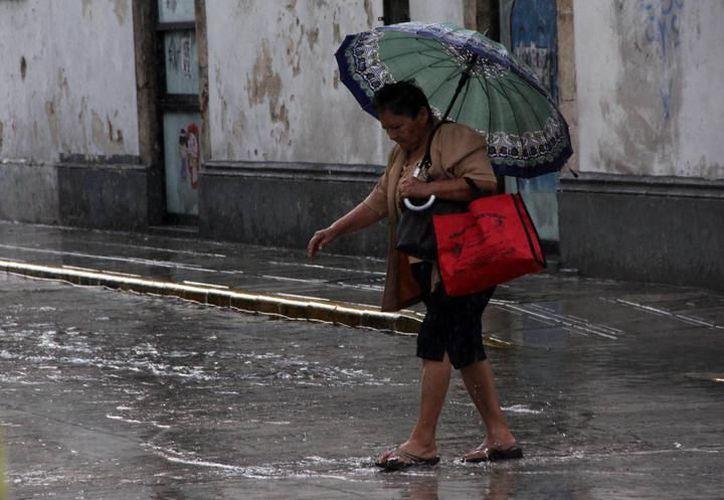 Las lluvias se presentarán en distintas zonas del estado. (Archivo/ SIPSE)