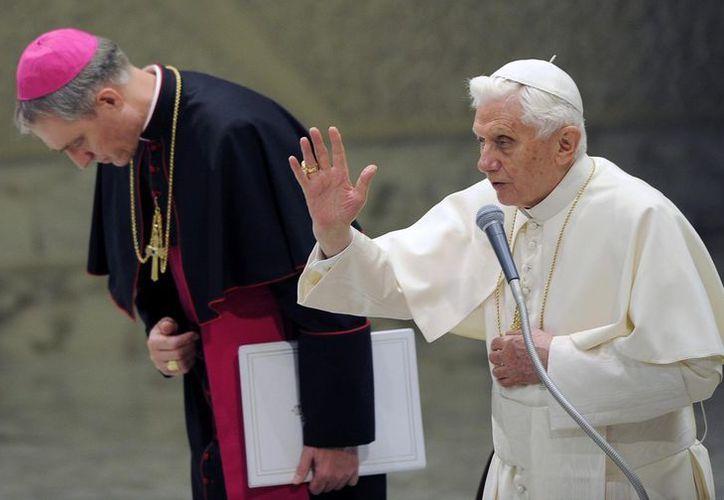 """""""Los cristianos necesitan trabajar en su recíproca aceptación"""", manifestó el Pontífice. (EFE)"""