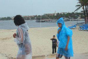 Continuarán las lluvias en Playa del Carmen