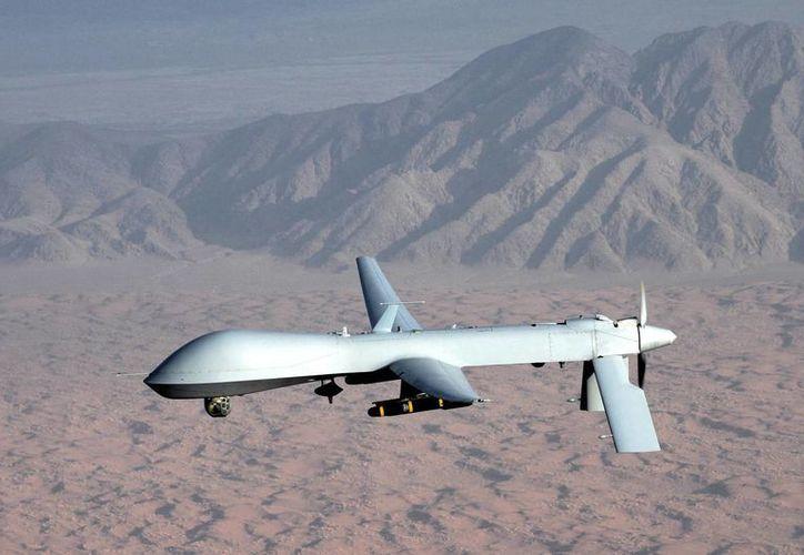 El avión Predator B no tripulado era adaptado para sobrevuelos marítimos para monitorear y vigilar las aguas estadounidenses. (Foto de contexto de Internet)