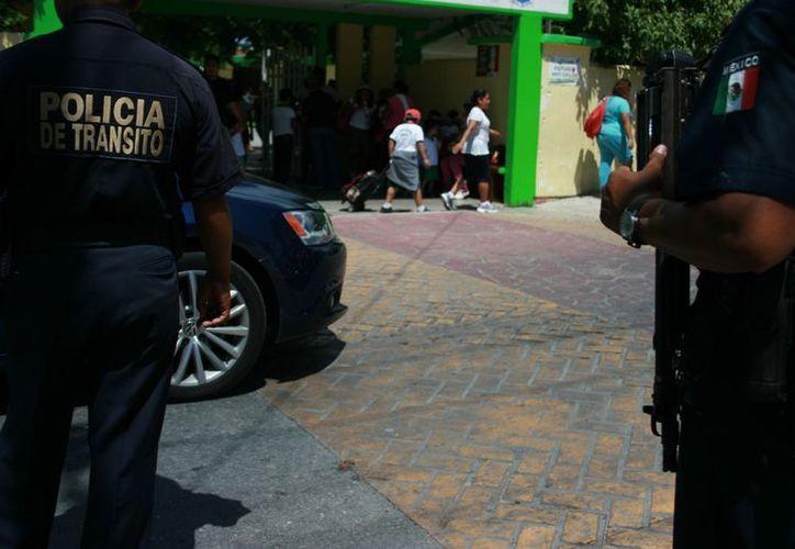 Los policías son más afectados ante la falta de compromiso de la autoridad municipal. (Adrián Barreto/SIPSE)