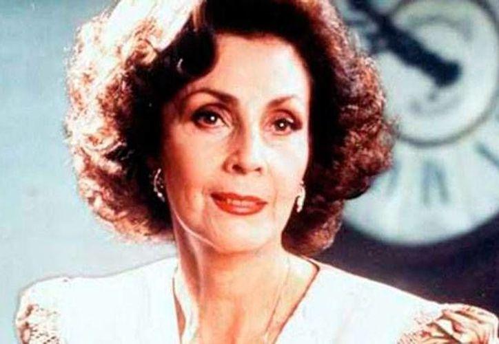 La actriz de cine, teatro y televisión Bárbara Gil falleció este sábado, víctima de un infarto. (Archivo/debate.com.mx)