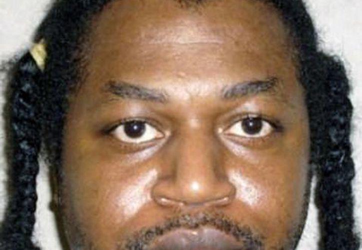 Esta foto del 29 de junio de 2011 cedida por el Departamento de Prisiones de Oklahoma muestra al condenado a muerte Charles Warner. (Agencias)