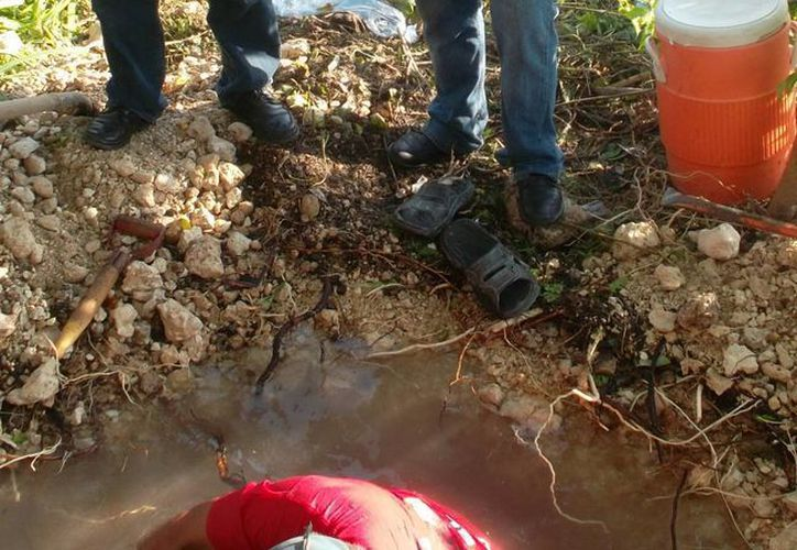 Una fuerte cantidad de agua potable se perdió en las fugas. (Manuel Pool/SIPSE)
