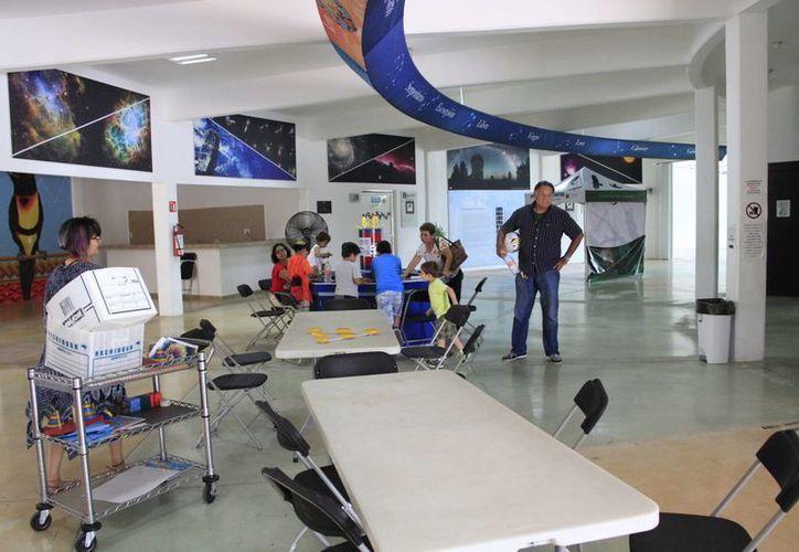 Habrá diversas actividades por nueve días continuos en el Planetario. (Tomás Álvarez/SIPSE)