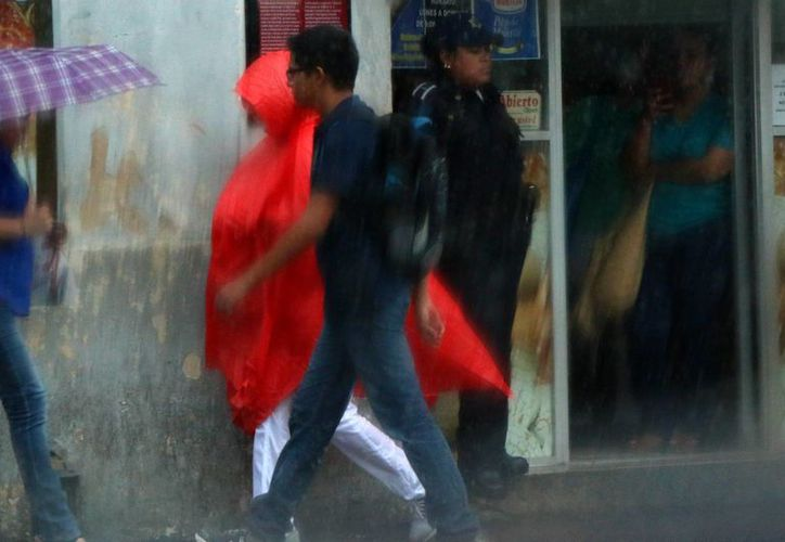 Según pronósticos de Conagua, para este fin de semana se espera para Yucatán lluvias acompañadas por tormentas eléctricas. (SIPSE)